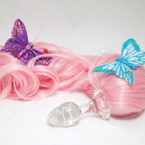 Crystal Delights My Lil Pony Tail - Assorted Solid Colors