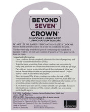 Load image into Gallery viewer, Crown Lubricated Condoms - Box Of 3