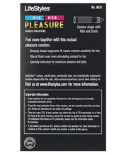 Load image into Gallery viewer, Lifestyles His & Her Pleasure Condoms - Pack Of 12