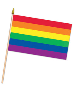 Rainbow Pride Fabric Flag