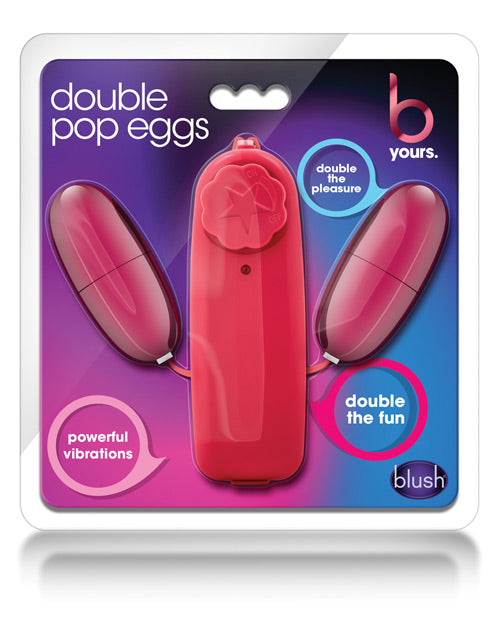 Blush B Yours Double Pop Eggs - Assorted Colors