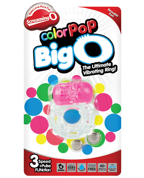 Screaming O Color Pop Big O - Asst Colors