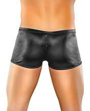 Load image into Gallery viewer, Male Power Satin Lycra Boxer Black