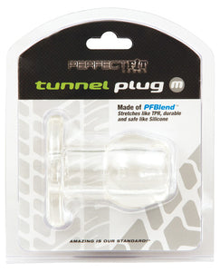 Perfect Fit Tunnel Plug - Clear - Assorted Sizes