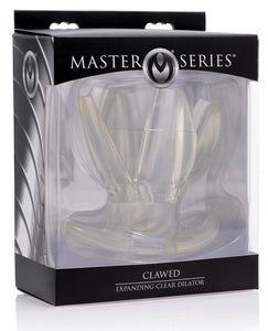 Master Series Clawed Expanding Clear Dilator