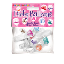 Load image into Gallery viewer, Dirty Balloons: Mini-Boob Latex Balloons