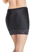 Load image into Gallery viewer, Coquette High Waisted Lace Trim Skirt