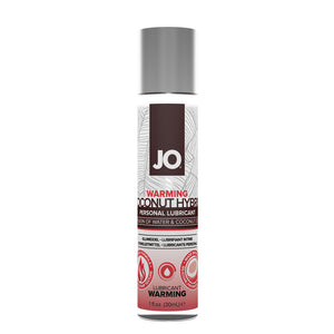 System Jo Silicone Free Hybrid Lubricant With Coconut Warming - Assorted Sizes