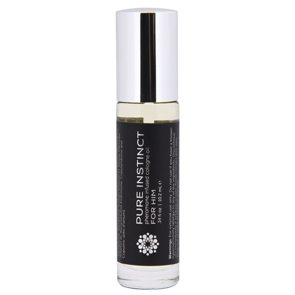 Pure Instinct Pheromone Cologne Oil For Him Roll On 10.2 ml.