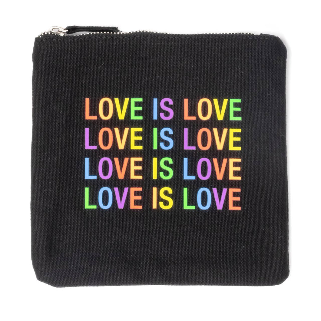 Love Is Love Cosmetic Pouch