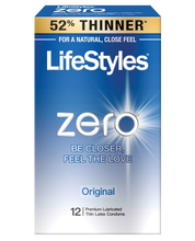 Load image into Gallery viewer, Lifestyles Zero Original Condoms - Pack Of 12