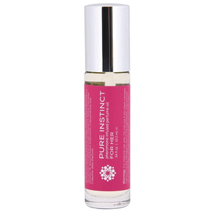 Pure Instinct Pheromone Perfume Oil For Her Roll On 10.2 ml.