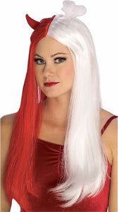 Rubie's Devil Angel Red & White Adult Costume Wig