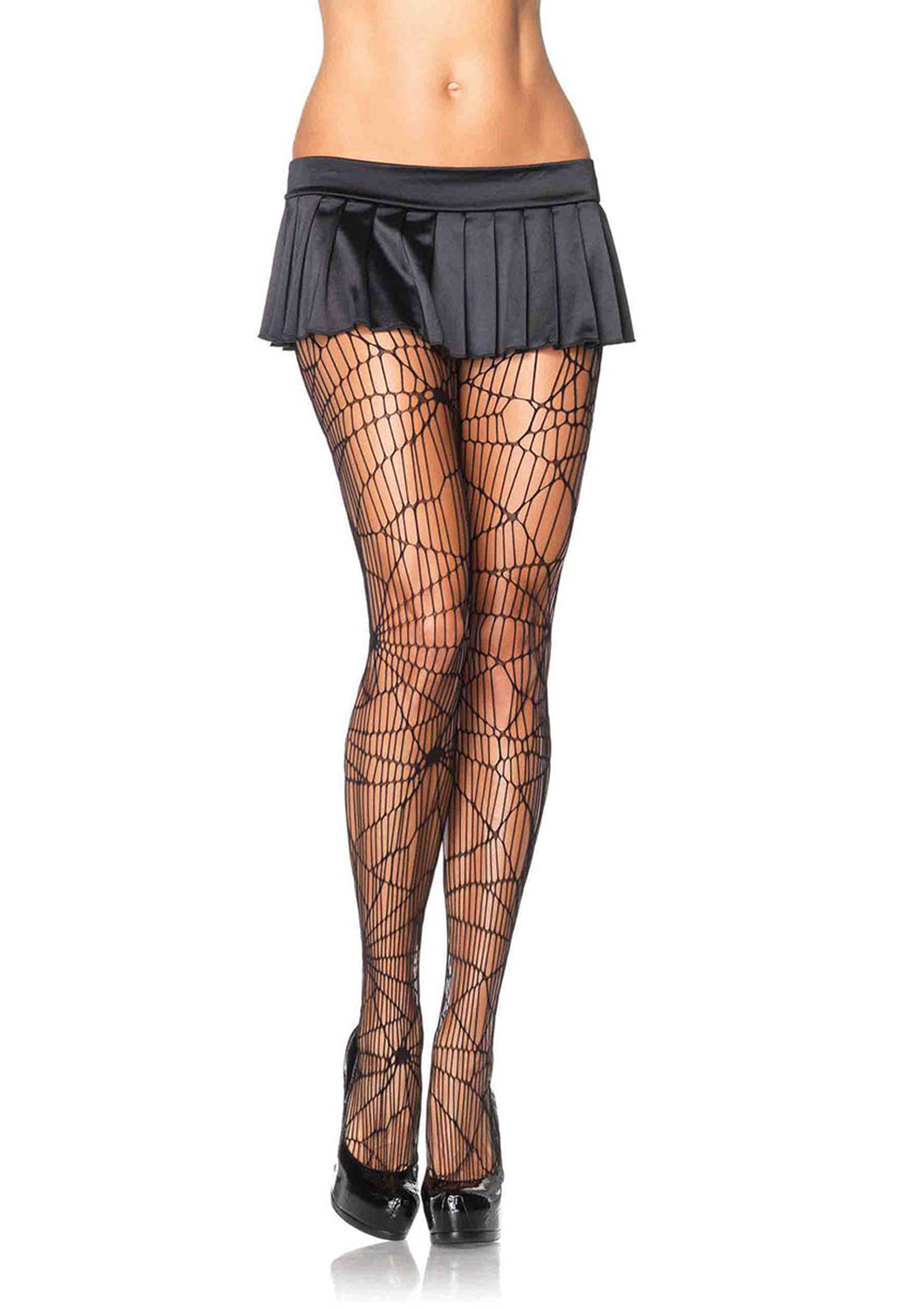 Leg Avenue Distressed Net Pantyhose