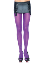 Load image into Gallery viewer, Leg Avenue Plus Size Nylon Lycra Tights - asst colors
