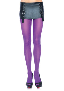 Leg Avenue Plus Size Nylon Lycra Tights - asst colors