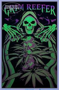 "Grim Reefer Black Light Poster - 23"" X 35"""