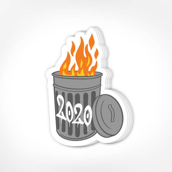 Trash Fire 2020 Stickers