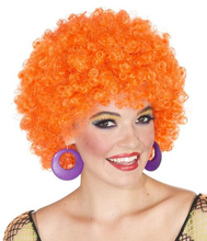 Load image into Gallery viewer, Rubie's Costume Neon Afro Clown Wig