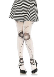 Leg Avenue Cracked Doll Joint Tights