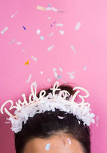 Load image into Gallery viewer, Party Up Top Headband - Bride To Be
