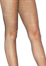 Load image into Gallery viewer, Leg Avenue Crystalized Fishnet Tights