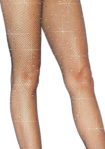 Leg Avenue Crystalized Fishnet Tights