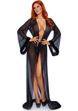 Load image into Gallery viewer, Leg Avenue 3 PC Fur Trimmed Robe Set