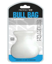"Load image into Gallery viewer, Perfect Fit Bull Bag 1.5"" Ball Stretcher - Clear"