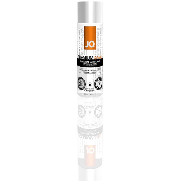 System JO Anal Premium Silicone Lubricant Original - Assorted Sizes