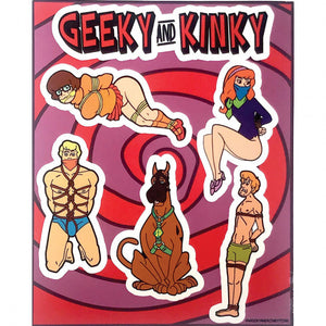 Geeky & Kinky Stickers Pack