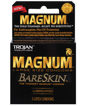 Load image into Gallery viewer, Trojan Magnum Bareskin Condoms
