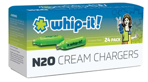 Whip-It! Whipped Cream Cartridges