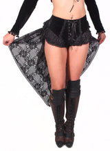 Load image into Gallery viewer, Gothic Swallow Tail Dress Shorts