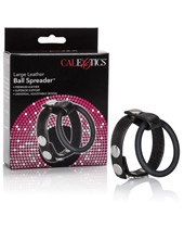 Load image into Gallery viewer, Cal Exotics Leather Ball Spreader