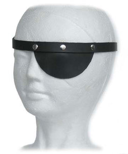 Eye Patch In Black Leather