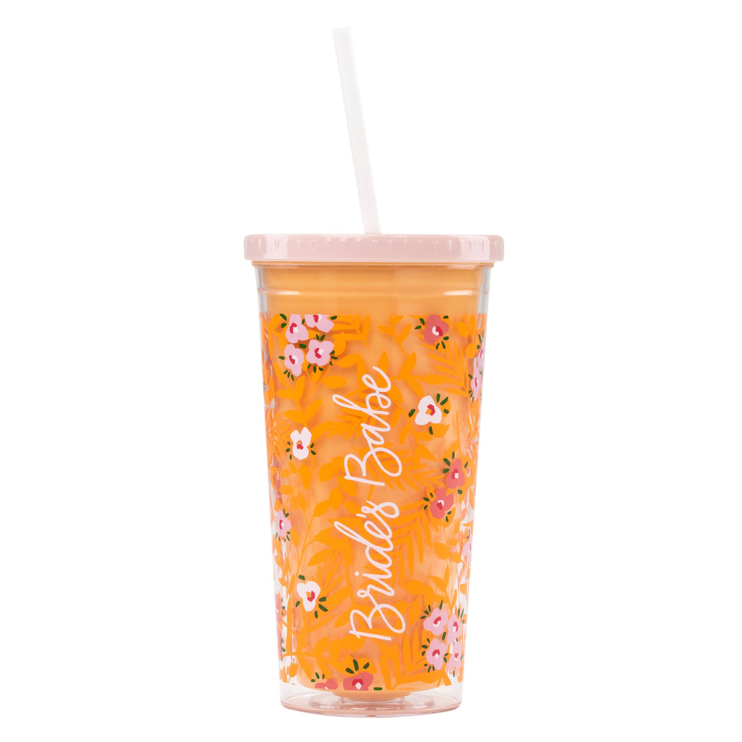Bride's Babe Drink Tumbler by About Face Designs