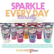 Load image into Gallery viewer, Sea Star Sparkle Rainbow Glitter Sunscreen - Asst Scents