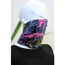 Load image into Gallery viewer, Feather Face Bandana Mask