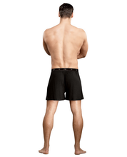 Load image into Gallery viewer, Male Power Bamboo Boxer Short - Black