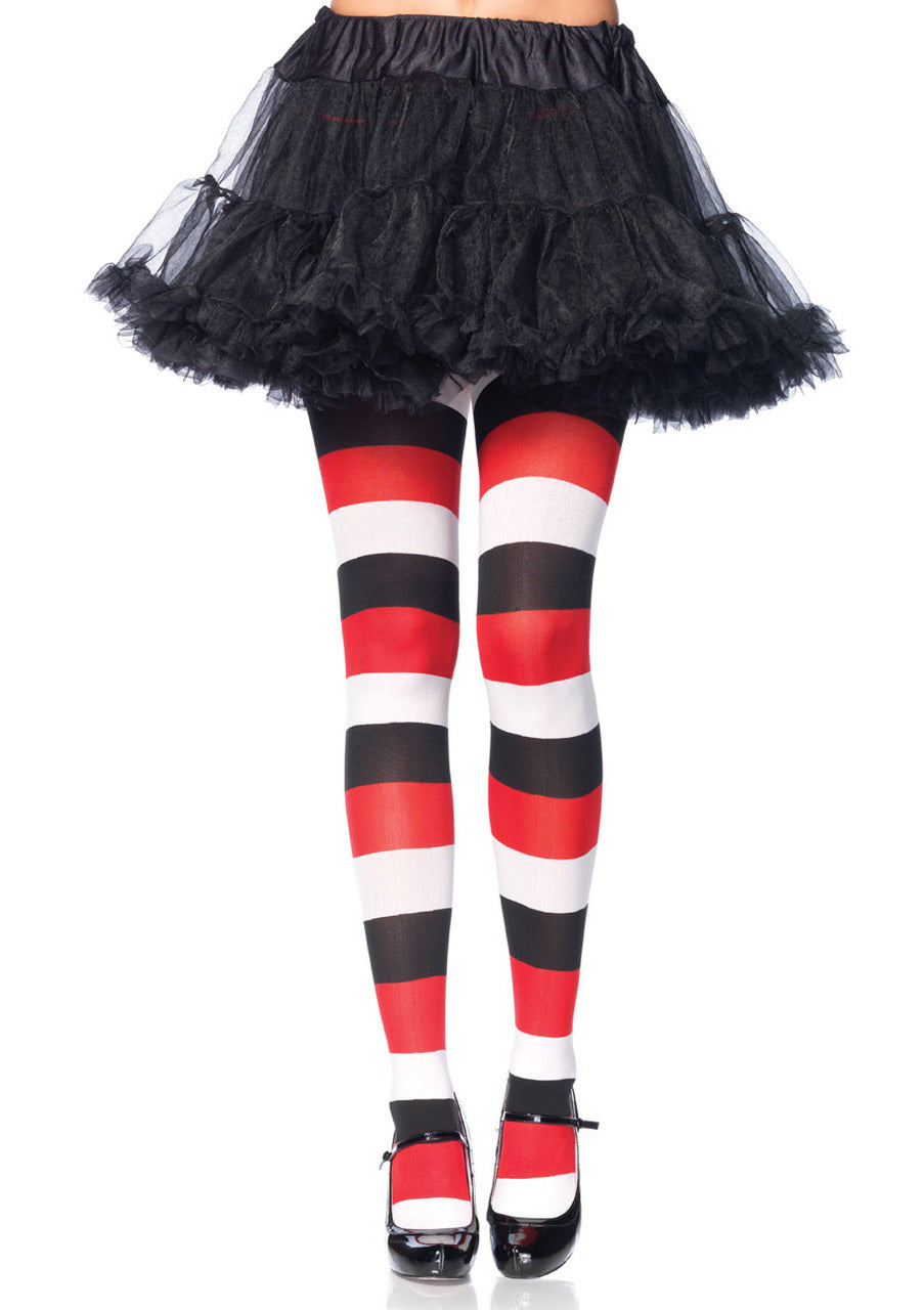 Leg Avenue Darling Doll Striped Tights