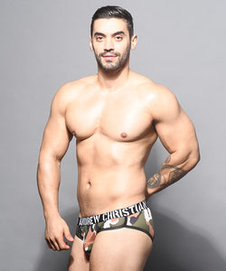 Andrew Christian Camouflage Brief w/ Almost Naked Pouch