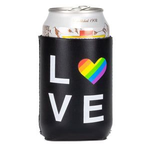 Love Rainbow Koozie