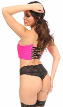 Load image into Gallery viewer, Daisy Lavish Short Bustier Top