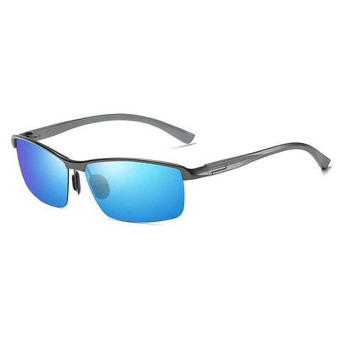 Original Designed Mirror Rectangle Sports UV400 Sunglasses - Southern Streetwear