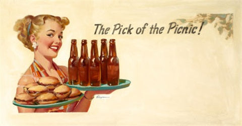 pick of the picnic gil elvgren