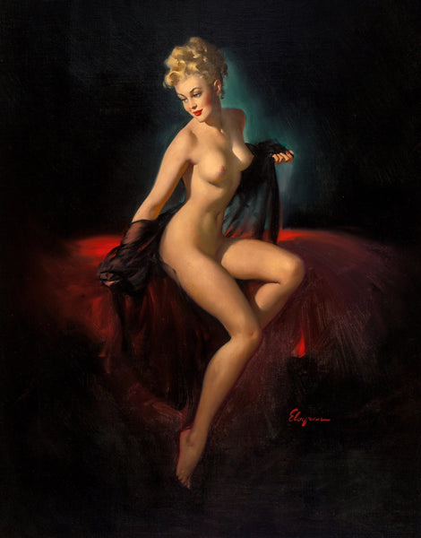 vision of beauty gil elvgren 1947
