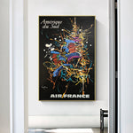 affiche air france georges mathieu