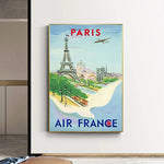 affiche air france Paris