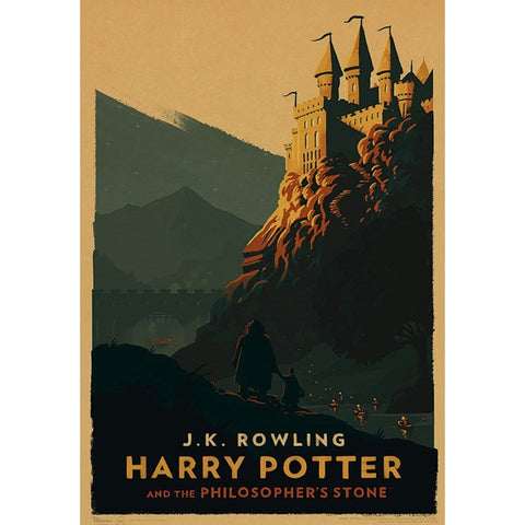 affiche harry potter vintage